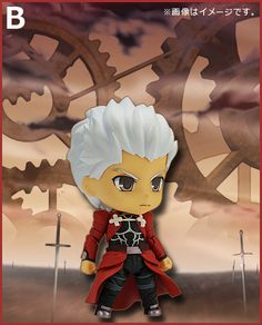 """Help Good Smile Company Select Backgrounds for """"Fate/stay night [Unlimited Blade Works]"""" Archer Nendoroid: The long awaited Nendoroid of Archer from Fate/stay night [Unlimited Blade Works] is here. To commemorate, Good Smile Company are letting the fans choose which background will be used on his packaging. Visit their site, select """"Tohsaka Residence,"""" """"Mental Scenery,"""" or """"City at Night,"""" and Tweet the pick to offer your input."""