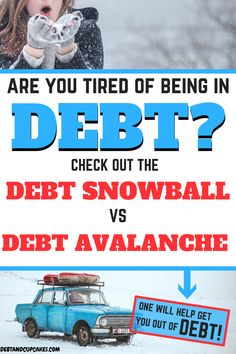 Debt Snowball Vs Debt Avalanche: Is One Right For You Are you trying to become debt free? The debt s Debt Free Living, Debt Snowball, Student Loan Debt, Get Out Of Debt, Dave Ramsey, Debt Payoff, Budgeting Tips, Money Saving Tips, Money Tips