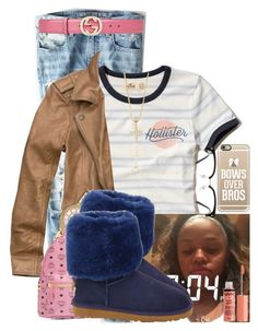 """""""I Still Get Jealous"""" by aniahrhichkhidd ❤ liked on Polyvore featuring American Eagle Outfitters, Hollister Co., Abercrombie & Fitch, Michael Kors, MCM, UGG Australia, Gucci, GlassesUSA and Casetify"""