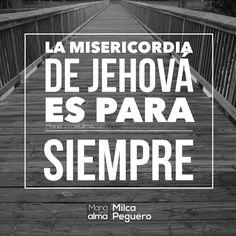Su misericordia es más grande que los cielos y es PARA SIEMPRE. #manáparaelalma #misericordia #fe #Dios #amordedios