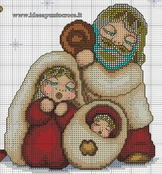 easy healthy breakfast ideas on the good day song Christmas Charts, Christmas Cross, Diy Christmas Ornaments, Cute Cross Stitch, Cross Stitch Charts, Cross Stitch Patterns, Cross Stitching, Cross Stitch Embroidery, C2c Crochet