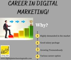 If thinking of lucrative career option, consider Digital Marketing – the booming job industry.  Learn Digital Marketing in Live Interactive Online Classroom Course under the guidance of experienced trainer from your home during prevailing COVID19 pendamic. All you need is an eagerness to learn, and a reputed platform to get training. Well, then Digital Platter Learning Studio will prove to be the best platform for you to pursue a Digital Marketing Certification Course from. Online Digital Marketing Courses, App Marketing, Digital Marketing Strategy, Classroom Training, Online Classroom, Career Options, Online Tutorials, Blog Writing