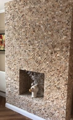 scabos tavertine spit face feature wall. Feature Walls, Travertine, Shag Rug, Slate, Natural Stones, Home Decor, Shaggy Rug, Chalkboard, Decoration Home
