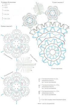 Materiales gráficos Gaby: Carpeta con rosas y hojas en crochet