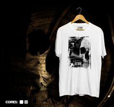 Camiseta Skull Storm.  www.usestorm.com.br