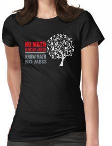 a math teacher Womens Fitted T-Shirt