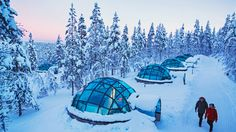 Igloo Viewing Pods Finland