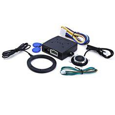 RFID Cerradura de Encendido de Arranque Del Motor Pulsador de Arranque del coche de Entrada Sin Llave de Arranque y Parada Del Inmovilizador de Alarma Sistemas de Seguridad de Conducción
