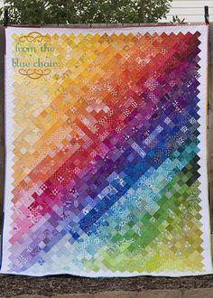 "Pixel Quilt - 1.5"" squares"