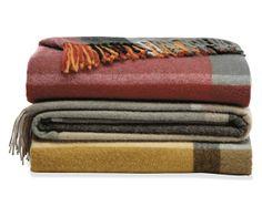 Horizon Plaid Throw - Blankets & Throws - Accessories - Room & Board