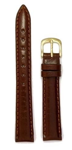 Look at this -  Ladies Genuine Italian Leather Watchband Tan 12mm Watch Band