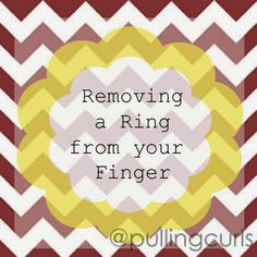 Some ideas of things you can do to get a stuck ring off.  Also some great ideas in the comments too!