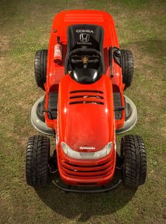 honda mean lawnmower can reach over 200km/h