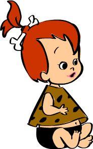 The Flintstones Characters Pebbles | pebbles flintstone cakıl cakmaktaş olarakta bilinen the flintstones ...