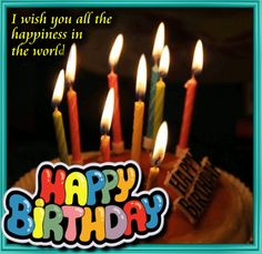 A Great Birthday Wish For Your Loved Ones Happybirthday