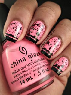 Fairly Charming: China Glaze Shocking Pink
