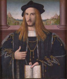 1512 Bernardino Loschi - Portrait of Alberto III Pio