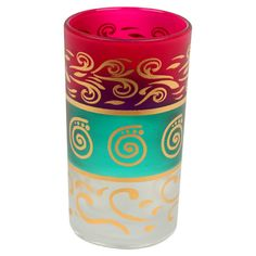 Colorful Tea Glass