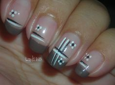 Neutral Flowers - Nail Art Gallery by NAILS Magazine