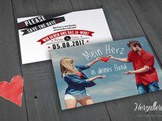 Kreative Hochzeitspapeterie: Hochzeitseinladungen.de lädt originell zur Traumhochzeit! Place Cards