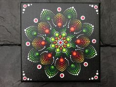 Mandala Bild, Leinwand handbemalt und wunderschön | Möbel & Wohnen, Dekoration, Bilder & Drucke | eBay!