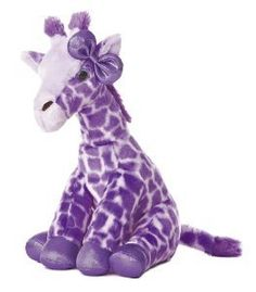 "Girlz Nation Purple Giraffe 12"" by Aurora"