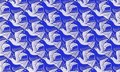 tessellated doves pattern - Google Search