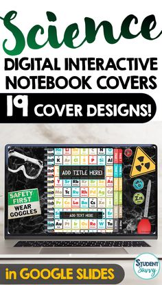 This resource contains 19 Science Interactive Notebook template covers and set of tabs. (19 unique cover (with tabs) designs) Cover Styles Include: Earth Science, Plate Tectonics, Life Science, Physics, Biomes, Chemistry, Microbiology Oceanography, Climate/Weather, Zoology, Botany, Space, Atoms, Anatomy, Astronomy, and Chemistry – 19 Unique Cover Styles