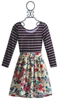 Five Loaves Two Fish Tweet Tweet Tween Girls Dress $63.00