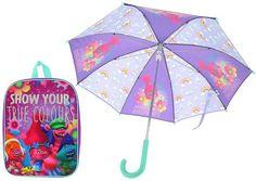 DreamWorks Trolls Backpack & Umbrella Backpack Umbrella, Kids Umbrellas, Dreamworks, Troll, Backpacks, Children, Young Children, Boys, Kids