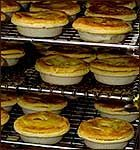 The humble meat pie is as Aussie as it gets. While Americans love hamburgers, Australians love their meat pies and sausage rolls more. Read Recipe by jaollinger Australian Meat Pie, Aussie Food, Aussie Pie, Empanadas, Samosas, Mary Berry, Meat Recipes, Cooking Recipes, Curry Recipes