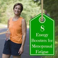 Menopause got you dragging? Here are a few simple ways to fight menopause energy drain and regain your oomph.