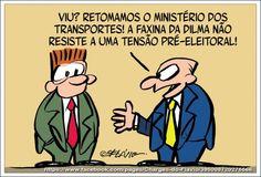 A faxina de Dilma...