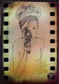GIRL WITH A CAMERA by Tina Smith