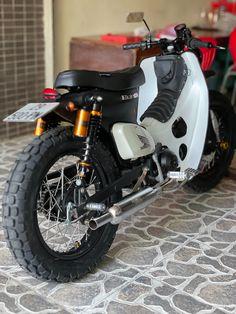 Honda Motorcycles, Cars And Motorcycles, Bmx, Honda Cub, Sport Trac, Cafe Racer, Bobber, Motorbikes, Cubs