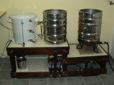 Awesome electric heated, indoor, electronic controlled HERMS beer brewing system. Detailed build instructions of a pretty brilliant little wort factory.