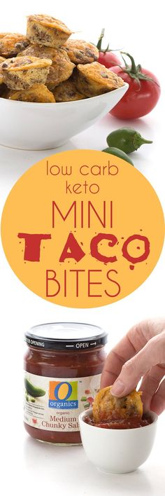 Mini Taco Bites via @dreamaboutfood