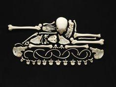 Human Bone Art by Francois Robert