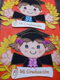 Graduation Crafts, Kindergarten Graduation, Graduation Decorations, Diy And Crafts, Crafts For Kids, Paper Crafts, Diy Plaster, Page Borders Design, School Posters