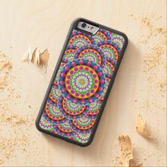 Wood Case iPhone 6 Mandala Maple iPhone 6 Bumper Case #Zazzle #Wood #Case #iPhone #6 #Mandala #Maple #Bumper http://www.zazzle.com/wood_case_iphone_6_mandala_carvedcase-256810997934550499