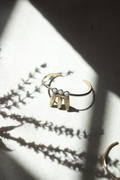 OPAL CLUSTER CUFF BRACELET | THERESE KUEMPEL