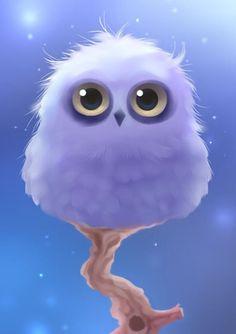 Polar Owl Art Print by Rihards Donskis