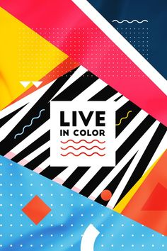 Live In Color #12 Art Print by Atelier Seneca | Society6