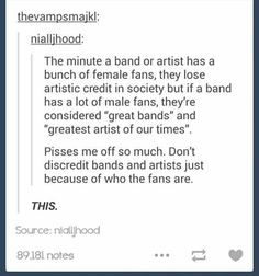 This is pure crap!!!! i mean if bands don't have fangirls..... nobody is gonna give a crap bout them.... and this is so freakin true!!!!