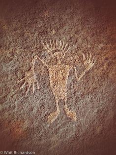 Petroglyph, Moab, Utah