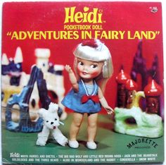 Still grooving that 60s vibe: who remembers Heidi the Pocketbook Doll? #ToyTuesday