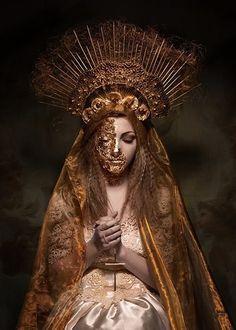 Mother Mary HM:  Photo by: Sylwia Makris. ♛    ♛~✿Ophelia Ryan ✿~♛