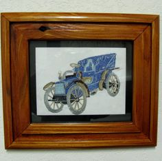 Antique car wall hanging 2 by THATSSEWAWESOMEBYCB on Etsy, $25.00