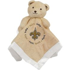 New Orleans Saints NFL Infant Security Blanket (14 in x 14 in)