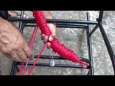 How to Make A Macramé Chair - YouTube